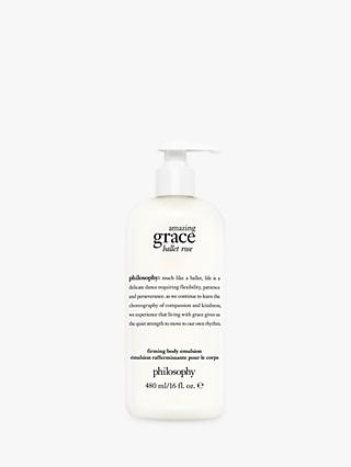 Philosophy Amazing Grace Ballet Rose Body Emulsion, 480ml