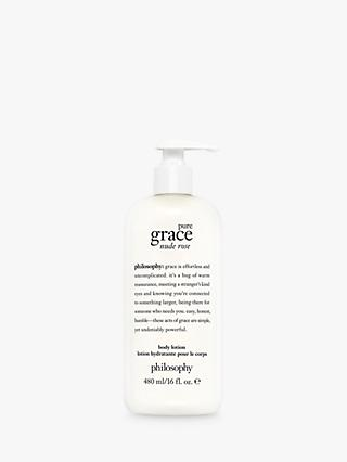 Philosophy Pure Grace Nude Rose Body Lotion, 480ml