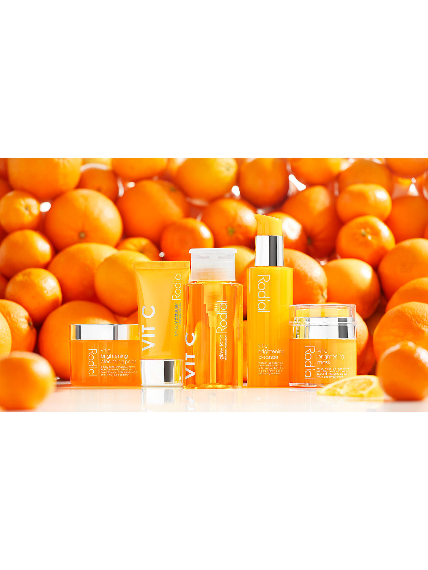 Buy Rodial Vit C Brightening Cleansing Pads Online at johnlewis.com