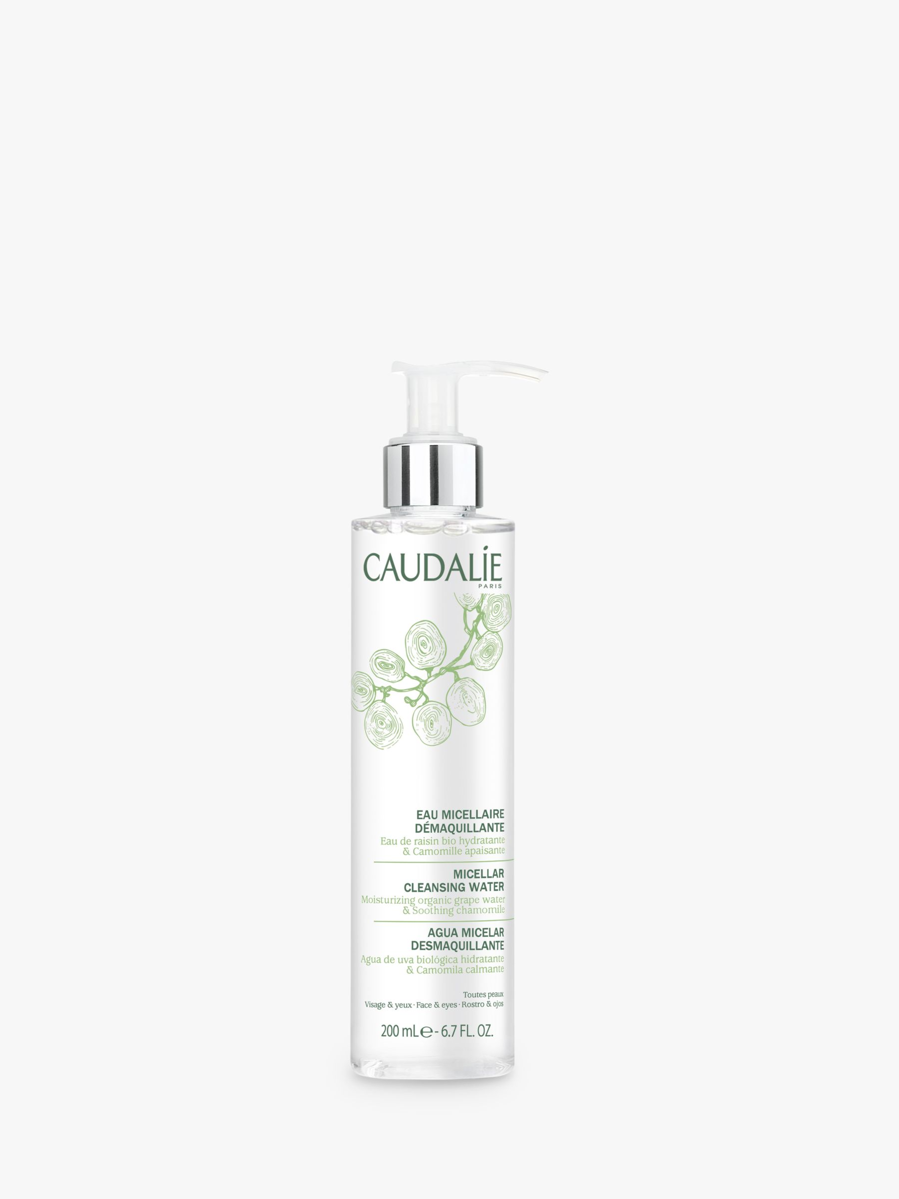 Buy Caudalie Micellar Cleansing Water, 200ml Online at johnlewis.com