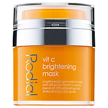 Buy Rodial Vit C Brightening Mask, 50ml Online at johnlewis.com