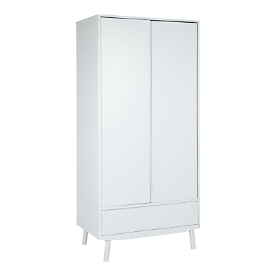 House by John Lewis Bow 2 Door Wardrobe