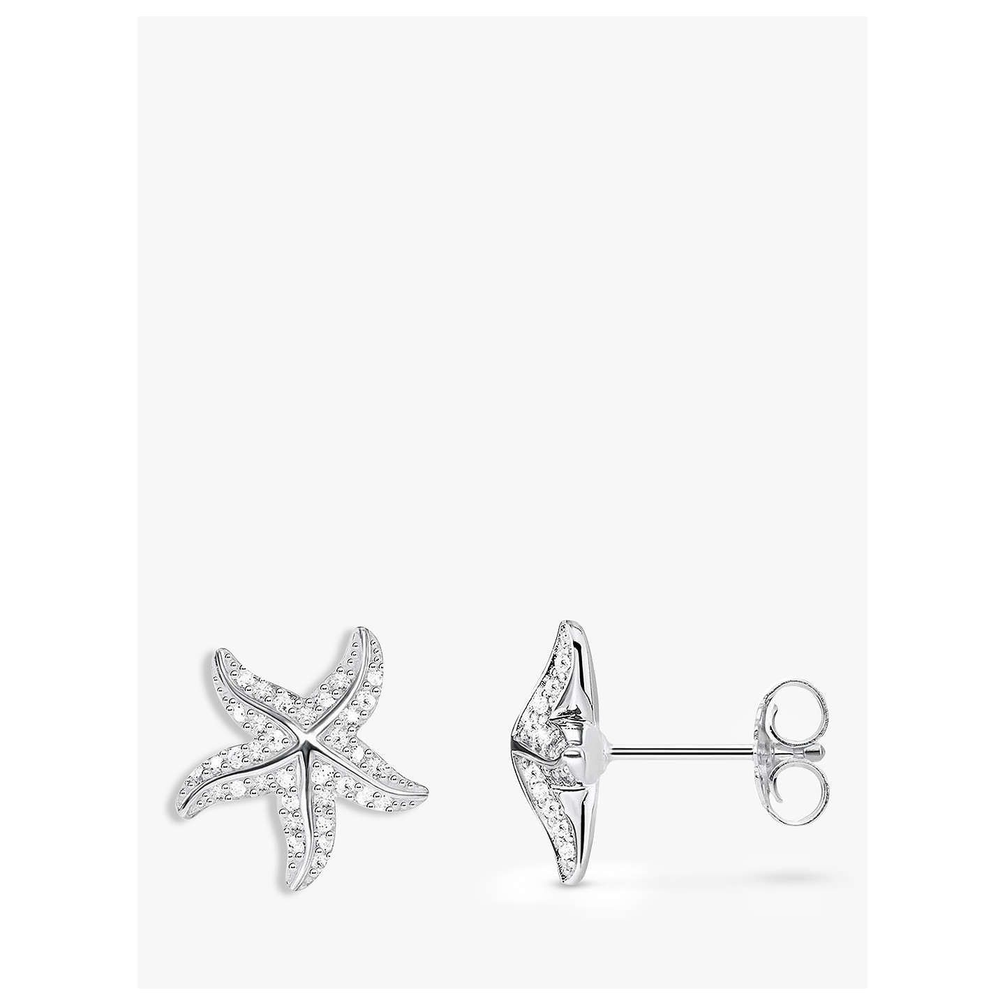 rhinestones in shaped gold starfish products original star thumbnail img earrings collections with stud small