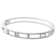 Buy Michael Kors Logo Bangle Bracelet Online at johnlewis.com