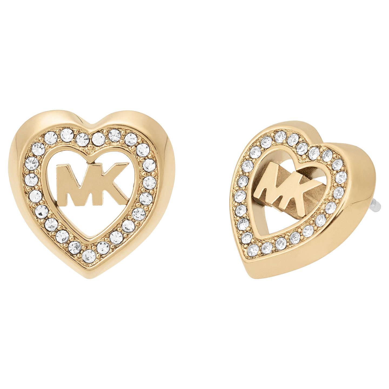 Michael Kors Love Is In The Air Stud Earrings Gold Mkj7149710 Online At Johnlewis