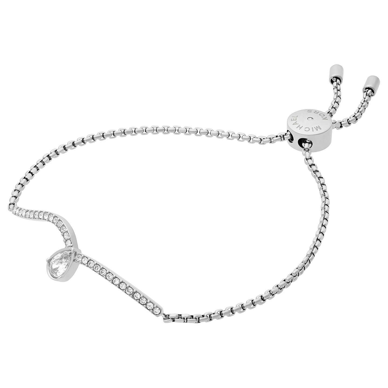 Michael Kors Wunder Teardrop Bracelet Silver Mkj7108040 Online At Johnlewis