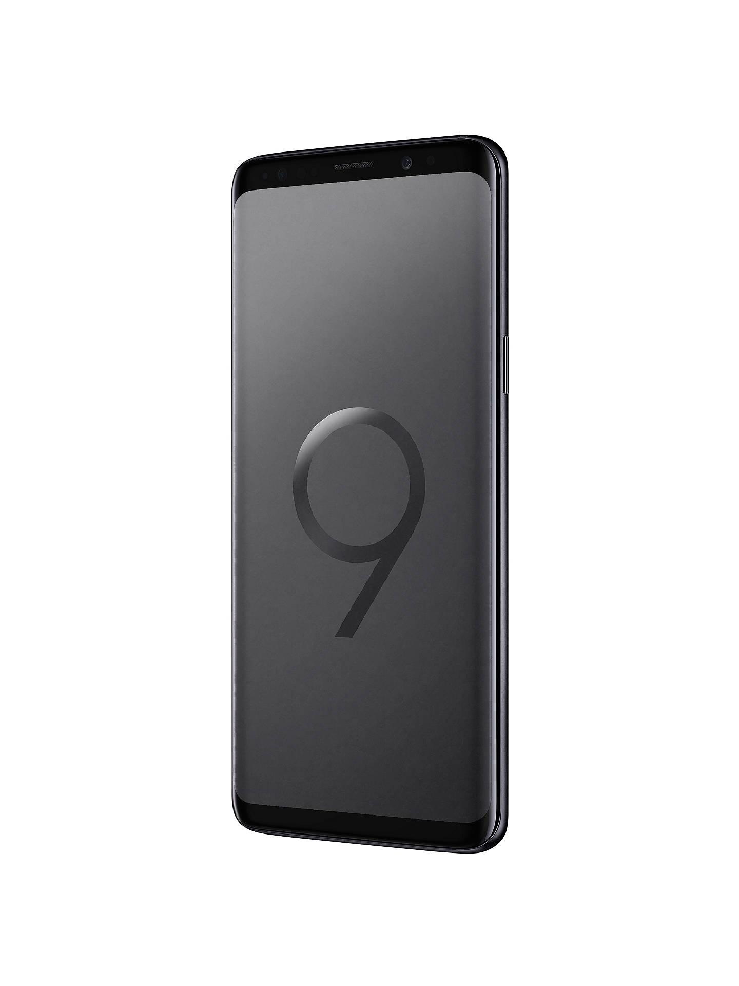 "Buy Samsung Galaxy S9 Smartphone, Android, 5.8"", 4G LTE, SIM Free, 64GB, Midnight Black Online at johnlewis.com"