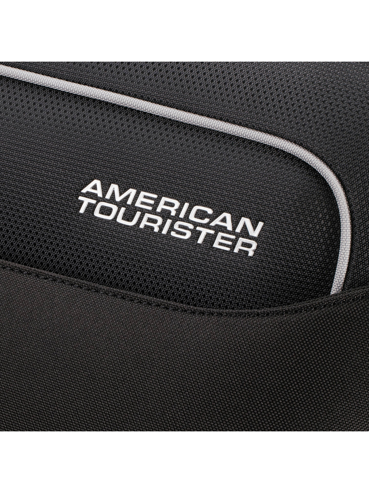 Buy American Tourister Holiday Heat 4-Spinner 55cm Cabin Suitcase, Black Online at johnlewis.com