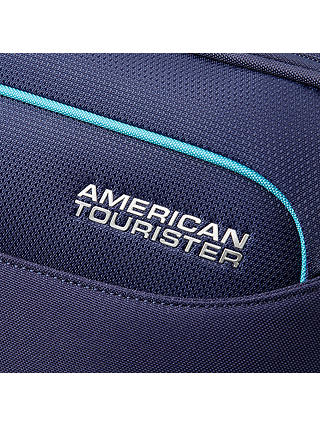 Buy American Tourister Holiday Heat 2-Wheel 55cm Cabin Suitcase, Navy Online at johnlewis.com