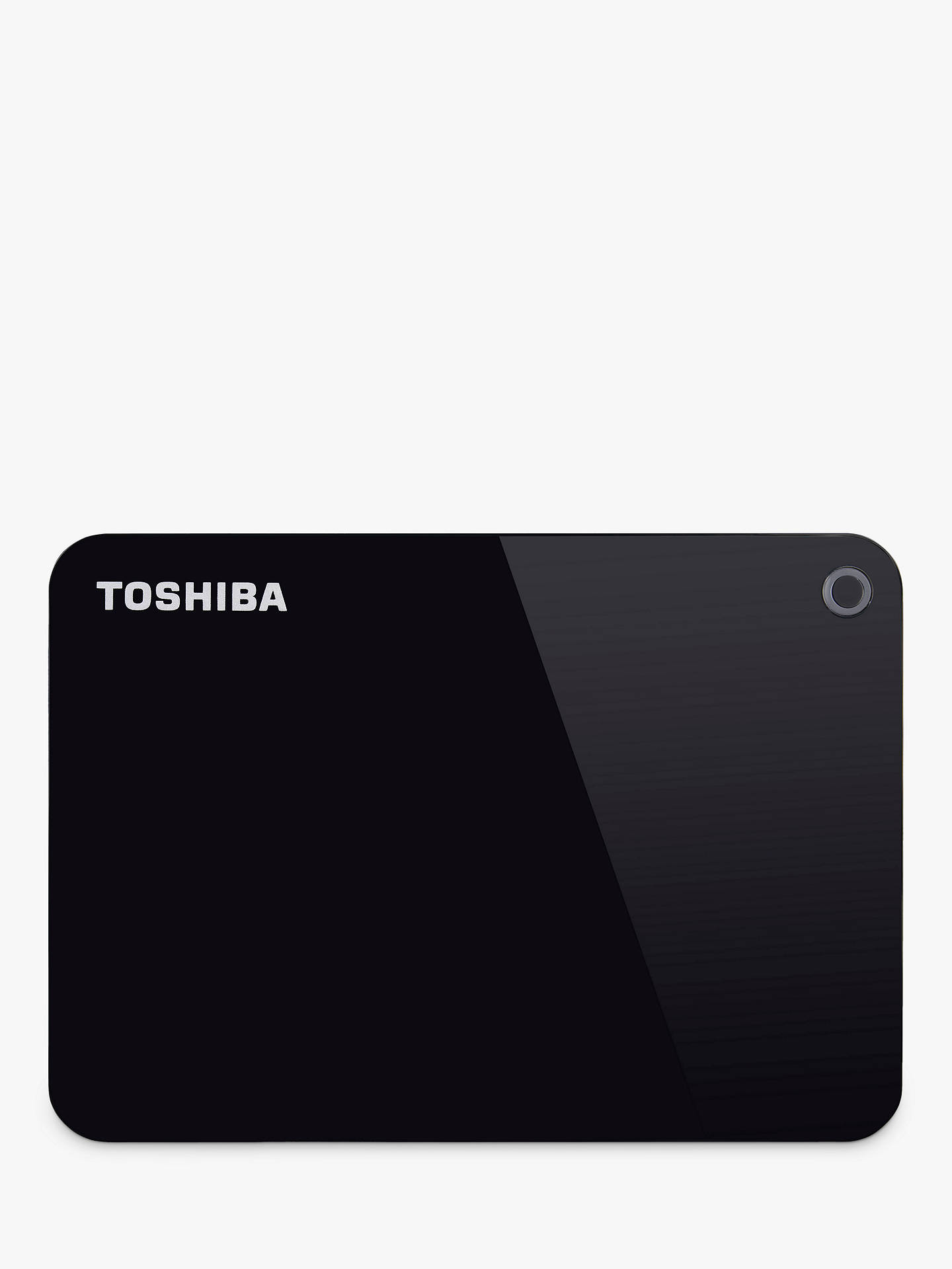 Buy Toshiba Canvio Advance, Portable Hard Drive, USB 3.0, 1TB, Black Online at johnlewis.com