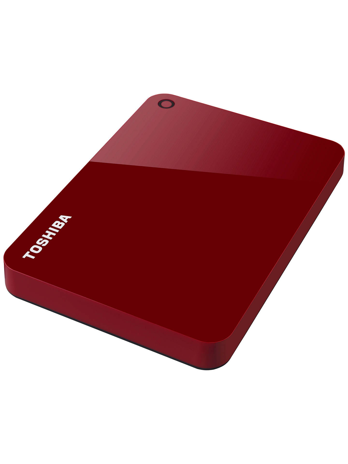 Buy Toshiba Canvio Advance, Portable Hard Drive, USB 3.0, 1TB, Red Online at johnlewis.com