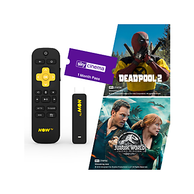 Image of NOW TV Smart Stick with 1 Month Cinema Pass