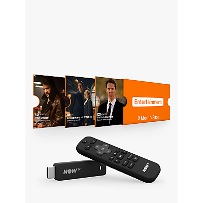 Image of NOW TV Smart Stick with Voice Search & 2 Month Entertainment Pass
