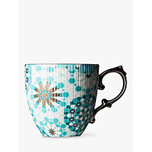 Buy T2 Dazed and Dazzled Mug, Iced Turquoise, 300ml Online at johnlewis.com