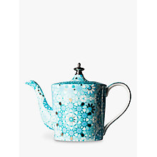 Buy T2 Dazed and Dazzled Tall 4 Cup Infuser Teapot, Iced Turquoise, 900ml Online at johnlewis.com