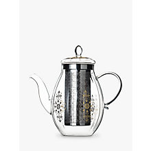 Buy T2 Starry Night Glass Infuser 4 Cup Teapot, Clear, 1L Online at johnlewis.com