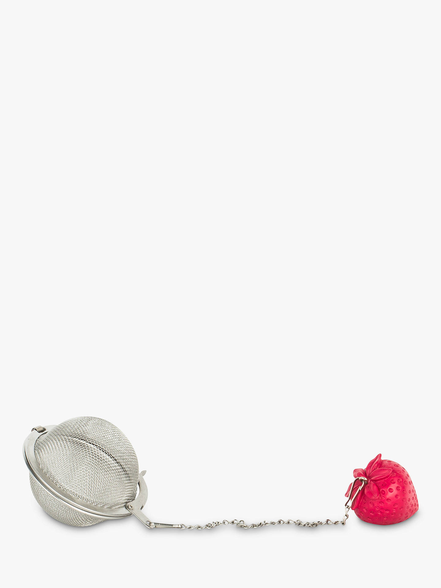 BuyT2 Tea Infuser With Strawberry Ornament, Pink Online at johnlewis.com
