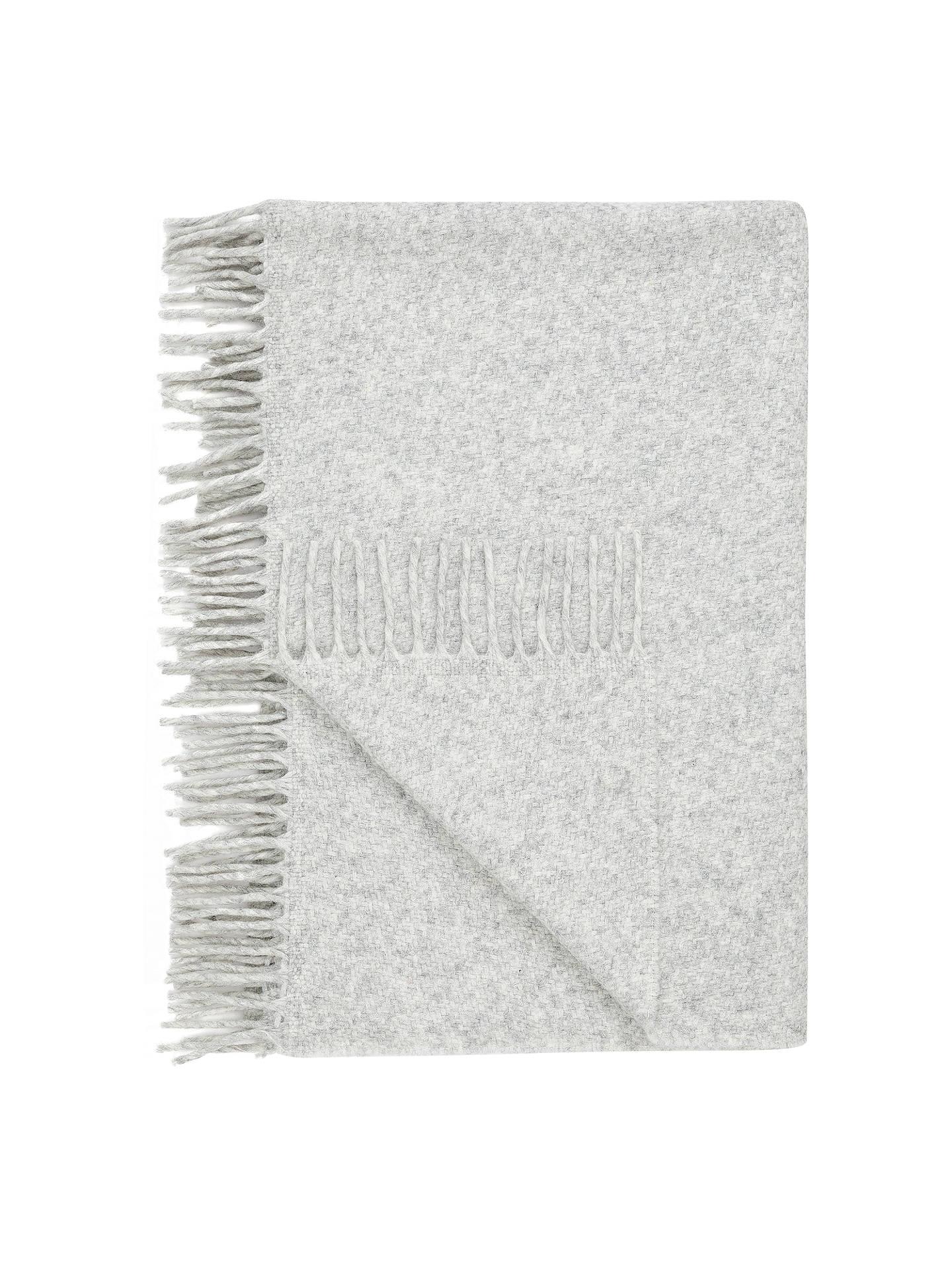 john lewis partners alpaca throw grey at john lewis. Black Bedroom Furniture Sets. Home Design Ideas