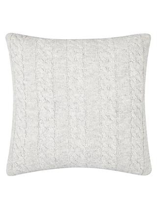 Croft Collection Cable Knit Cushion