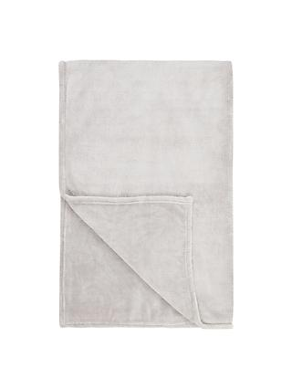 John Lewis & Partners Fleece Throw