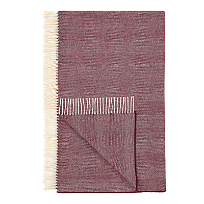 Tolly McRae Fine Merino Herringbone Weave Throw