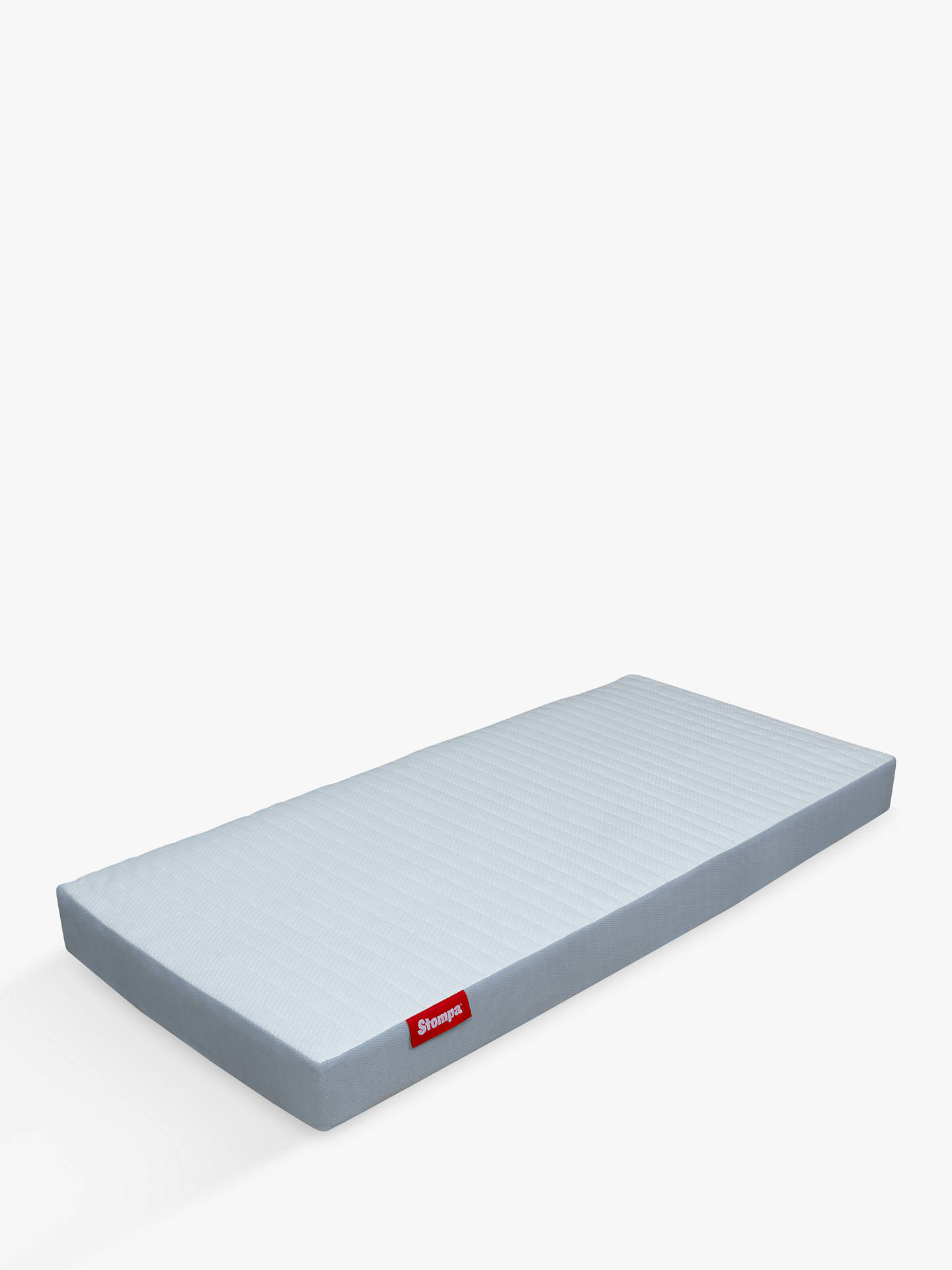 Buy Stompa S Flex Airflow 1000 Pocket Spring Mattress, Medium Tension, Extra Long Single Online at johnlewis.com