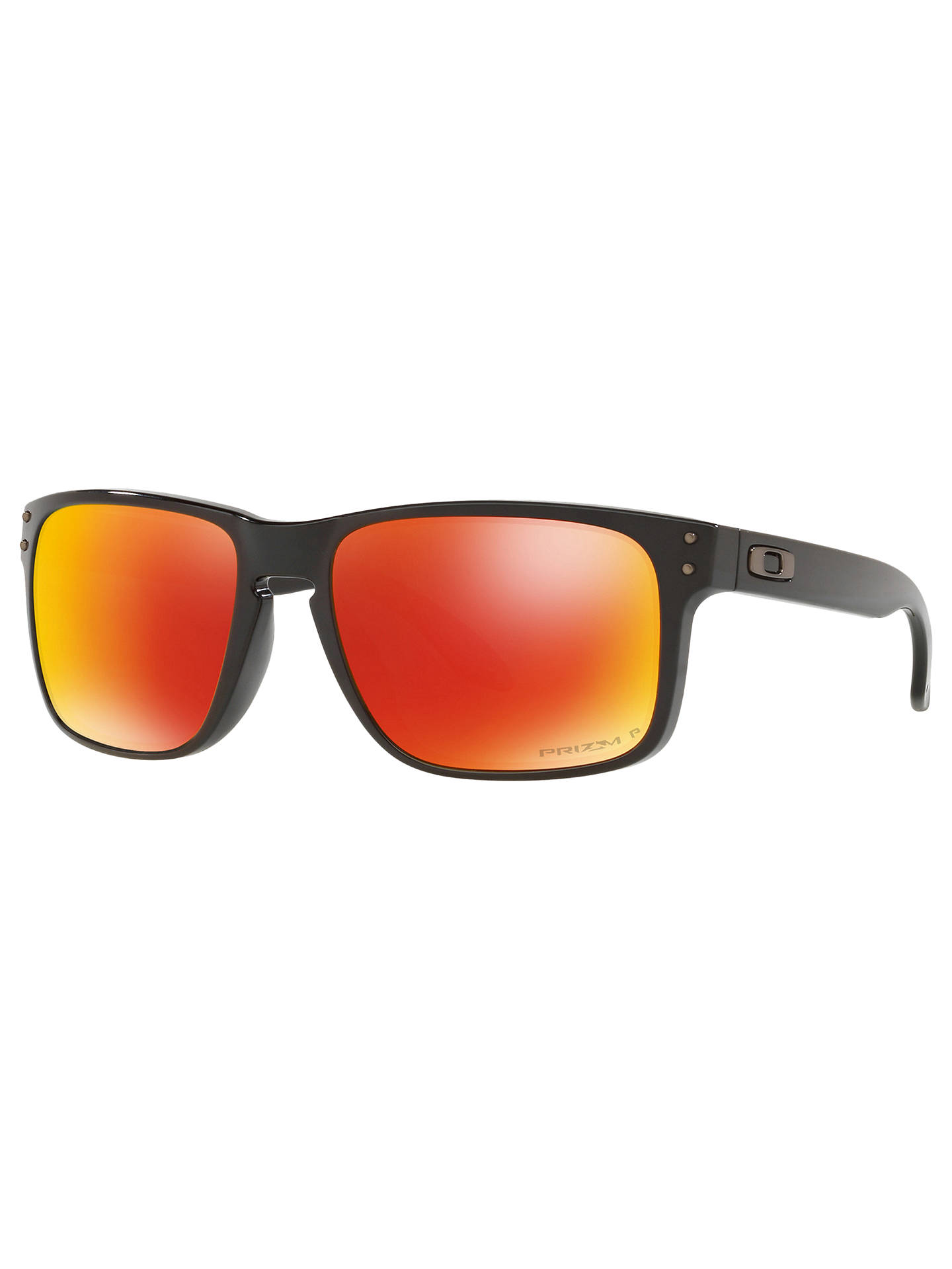 69c06bc00f5 Oakley OO9102 Men s Holbrook Prizm Polarised Square Sunglasses at ...