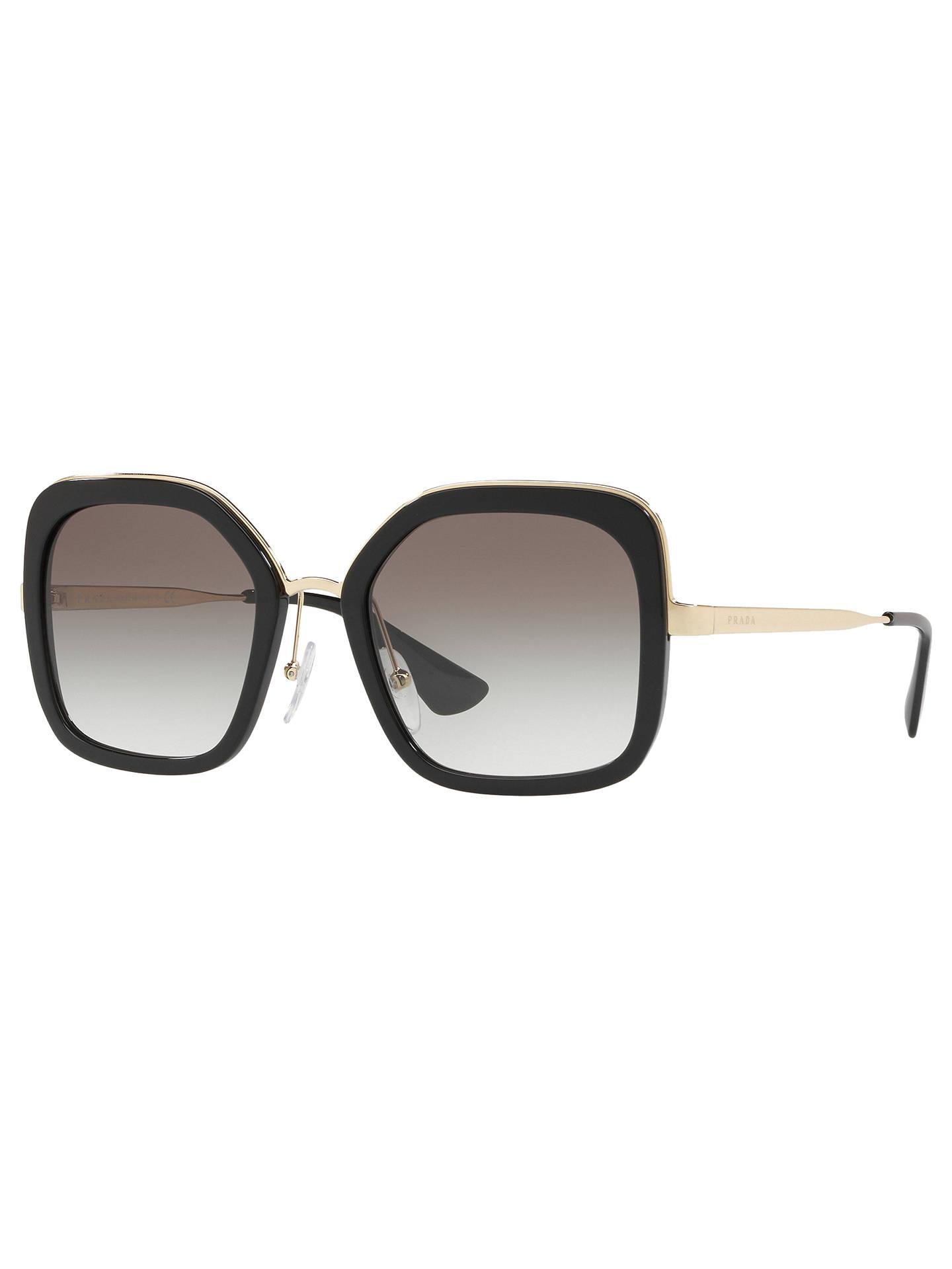 30645d83a35 Prada PR 57US Women s Square Sunglasses at John Lewis   Partners