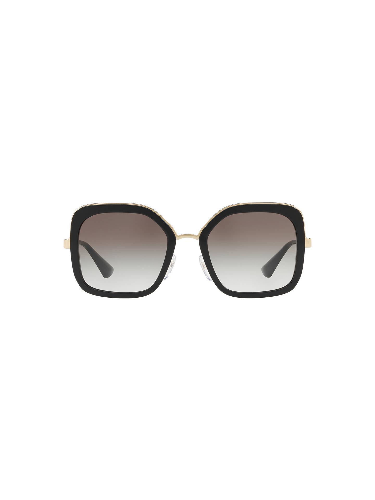 ea11c14600eb Prada PR 57US Women s Square Sunglasses at John Lewis   Partners