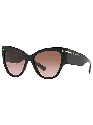 Valentino VA4028 Women's Chunky Cat's Eye Sunglasses