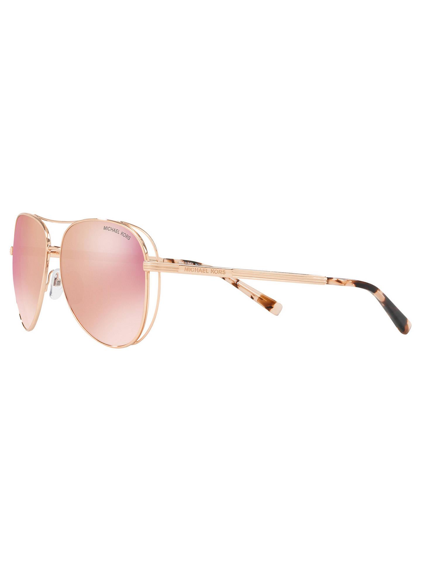 ab32c827f1 ... Buy Michael Kors MK1024 Women s Lai Polarised Aviator Sunglasses
