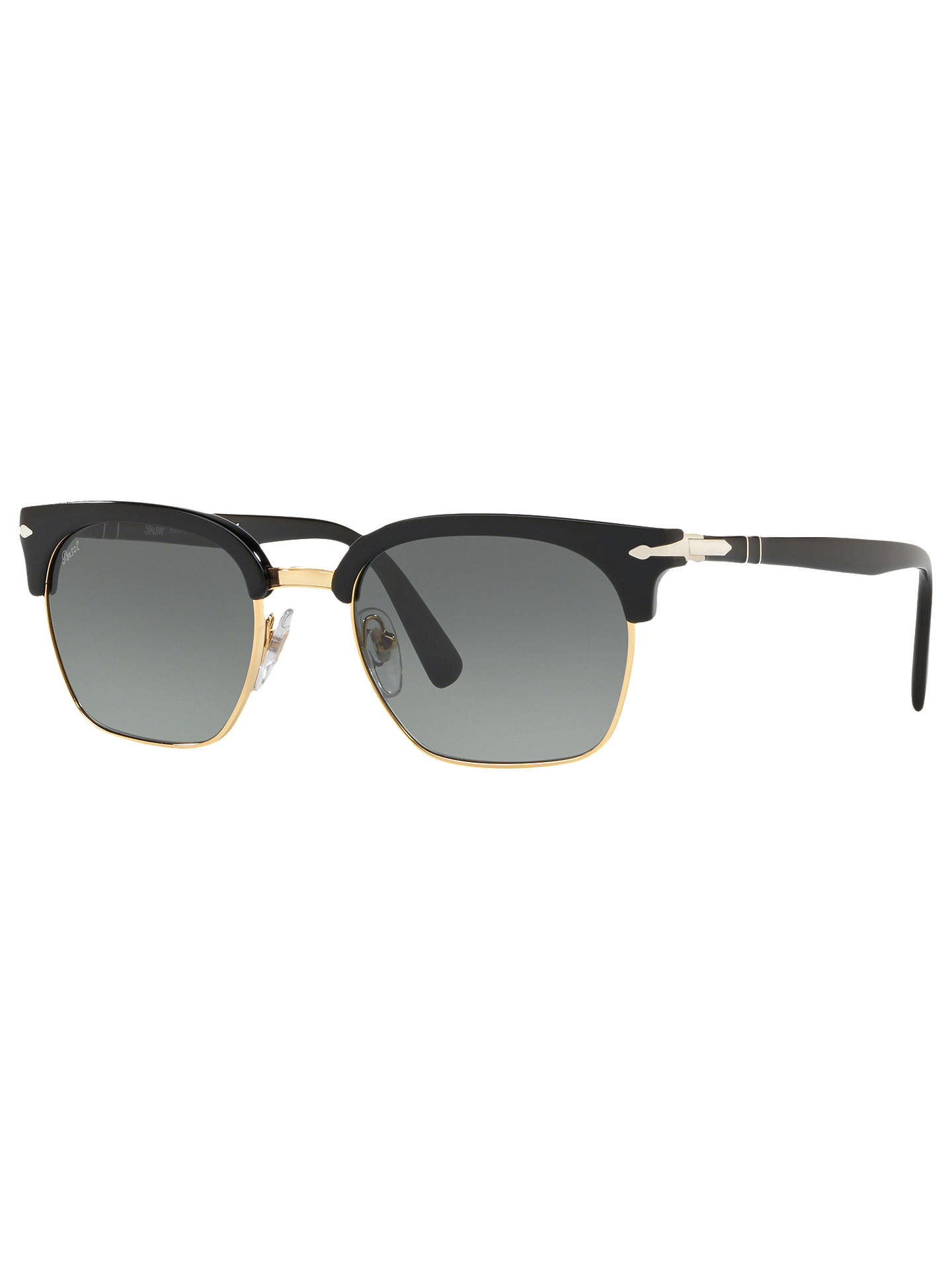 351e58b583 Persol PO3199S Unisex Polarised Square Sunglasses at John Lewis ...