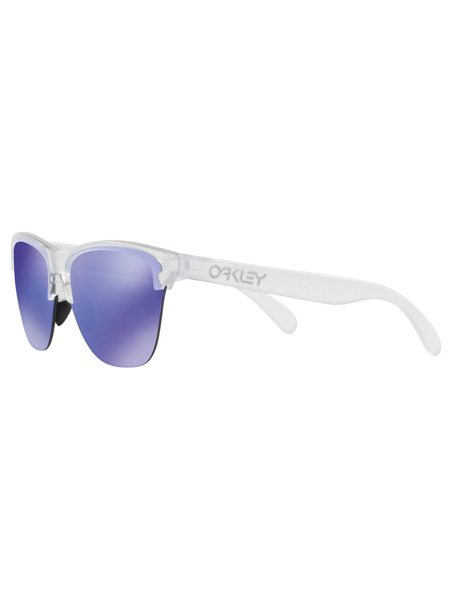 c43749e938 Oakley OO9374 Men s Frogskins Lite Round Sunglasses at John Lewis ...