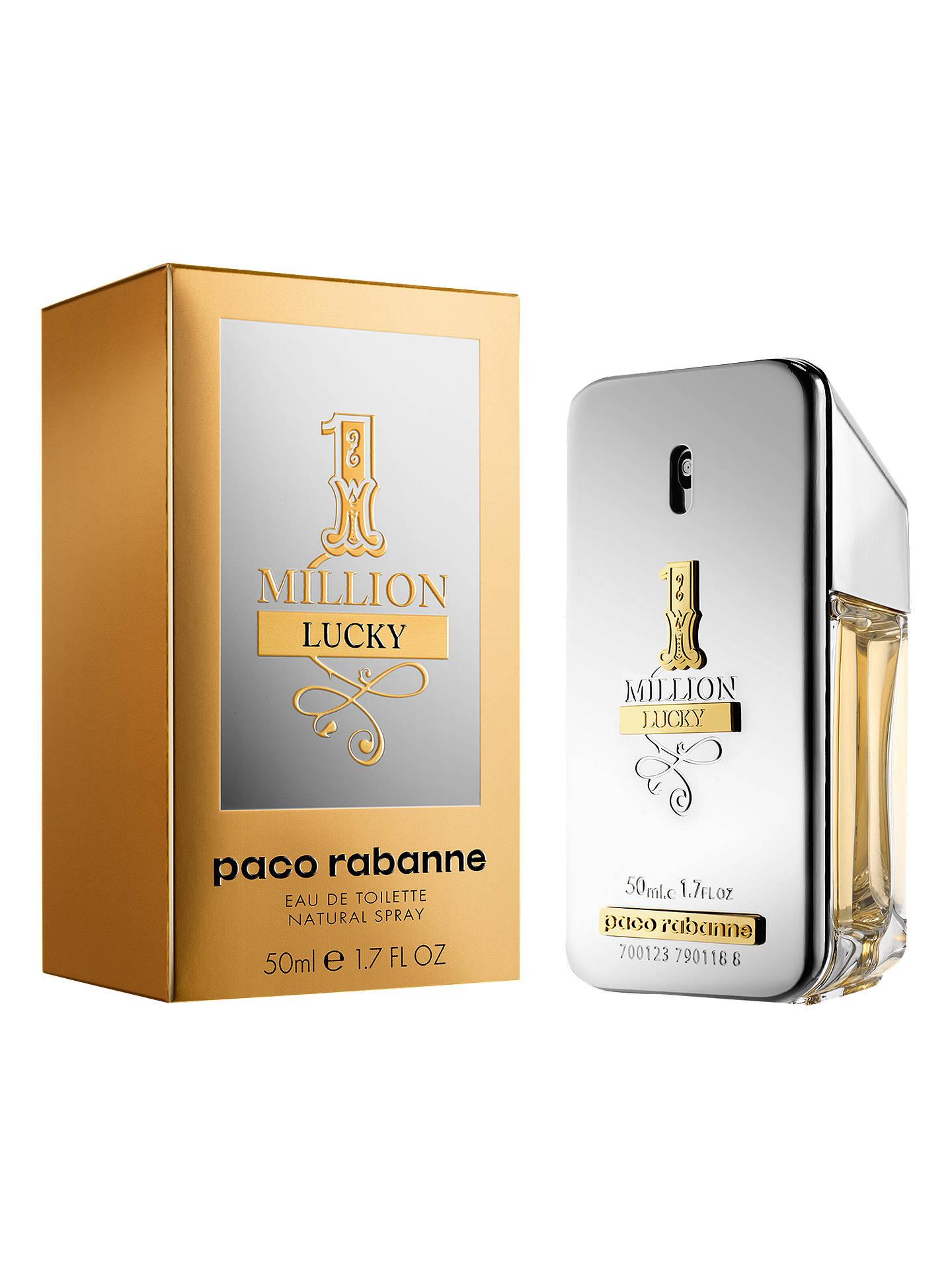Paco Rabanne 1 Million Lucky Eau De Toilette At John Lewis Partners