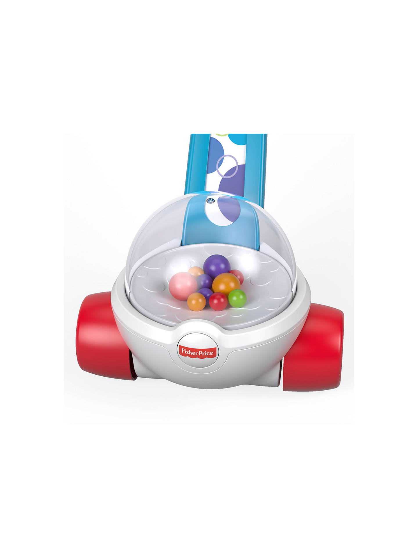 Fisher-Price Corn Popper Toddler Push Along Toy with Ball-popping Sounds and 1