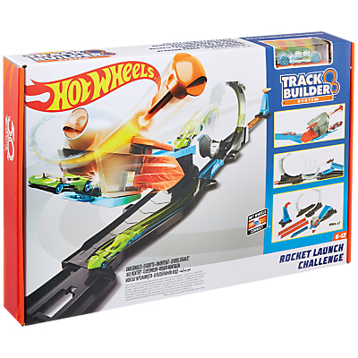 Hot Wheels Track Builder Rocket Launch Challenge