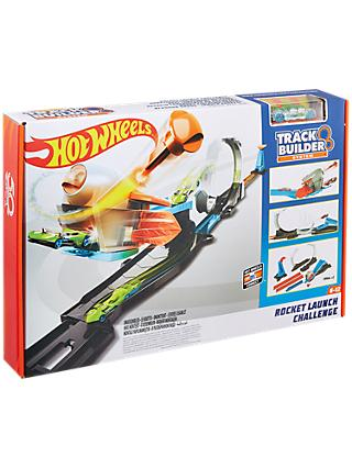 Hot Wheels Track Builder Rocket Launch Challenge