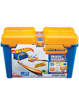 Hot Wheels Track Builder System Stunt Box