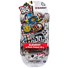 Buy Tech Deck 96mm Fingerboard Multipack, Pack of 4, Assorted Online at johnlewis.com