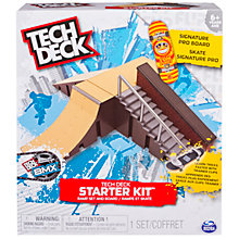 Buy Tech Deck Ramp Set and Board Starter Kit Online at johnlewis.com