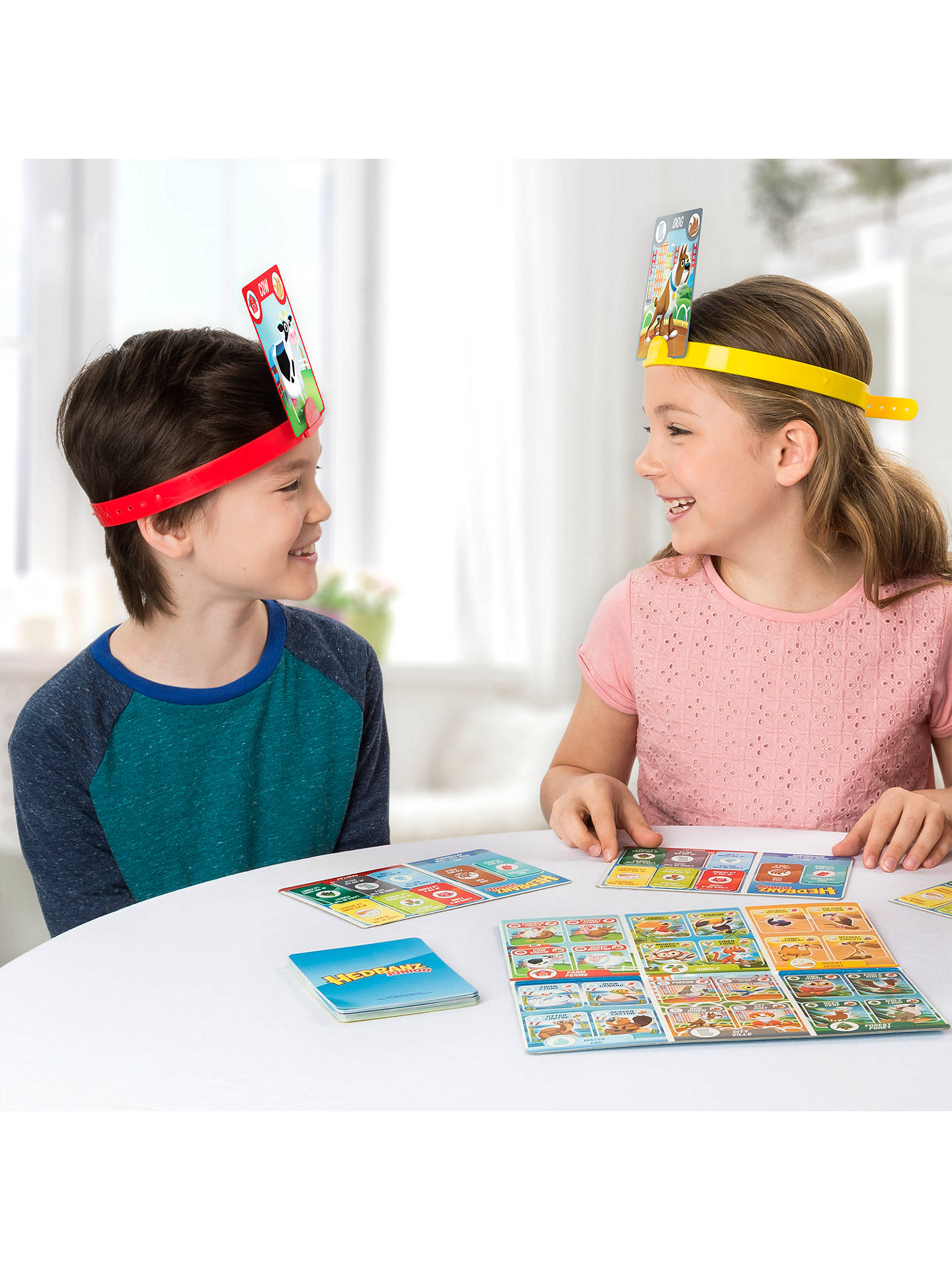 Buy Spin Master Hedbanz Junior Game Online at johnlewis.com