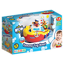 Buy WOW Toys Tommy Tug Boat Bath Toy Online at johnlewis.com