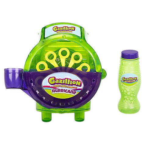 Gazillion Bubbles Hurricane Bubble Machine Online At Johnlewis