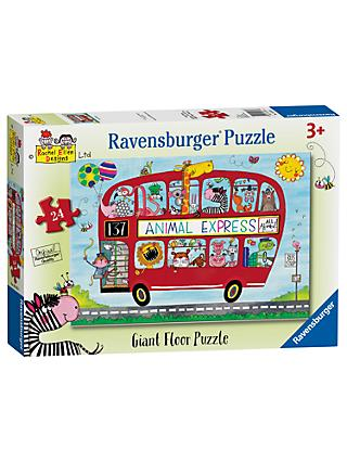 Ravensburger Animal Express Floor Jigsaw Puzzle, 24 Pieces