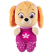 Buy Paw Patrol Snuggle Up Pup Skye Plush Soft Toy Online at johnlewis.com