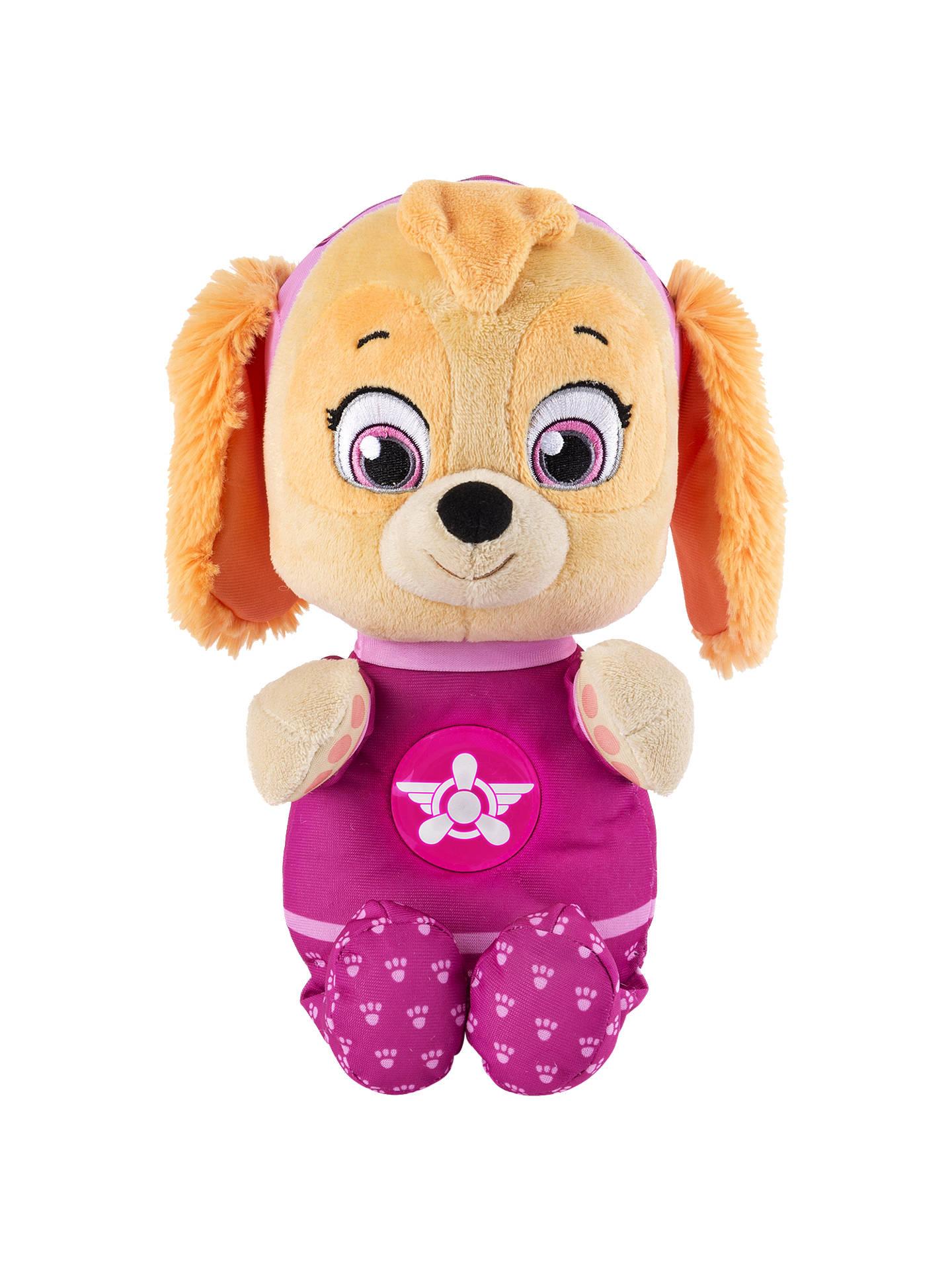 Paw Patrol Snuggle Up Pup Skye Plush Soft Toy at John Lewis