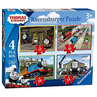 Image of Ravensburger Thomas & Friends Jigsaw Puzzle, Pack of 4