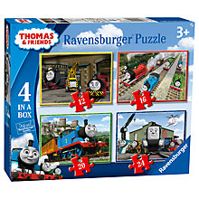 Buy Ravensburger Thomas & Friends Jigsaw Puzzle, Pack of 4 Online at johnlewis.com