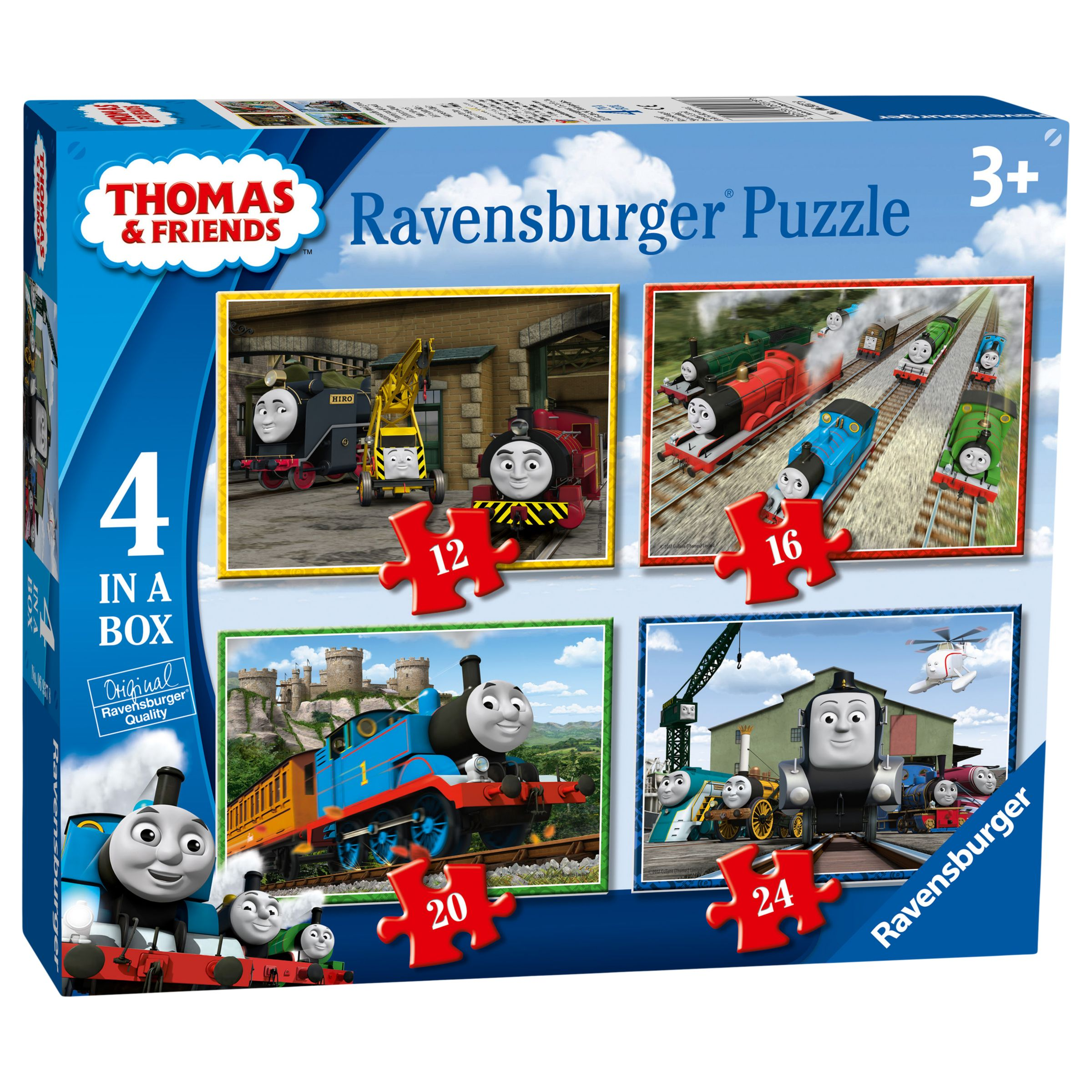 Ravensburger Ravensburger Thomas & Friends Jigsaw Puzzle, Pack of 4