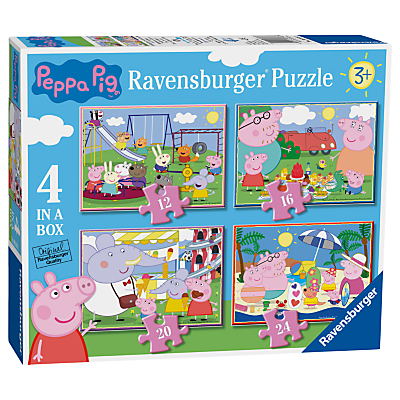 Image of Peppa Pig Ravensburger 4 In a Box Jigsaw Puzzle